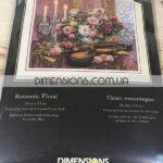 35185 Набор для вышивания крестом Романтический букет Romantic Floral DIMENSIONS Gold Collection
