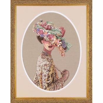 """03823 • Набор для вышивания крестом """"Викторианская элегантность"""" • """"Victorian Elegance"""" DIMENSIONS Gold Collection"""