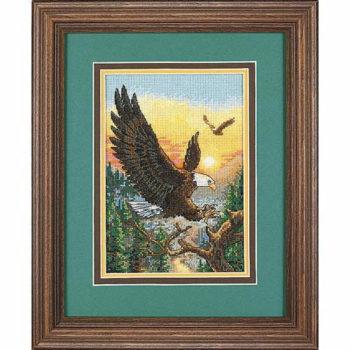 """06759 • Набор для вышивания крестом """"Орлы"""" • """"Eagles"""" DIMENSIONS"""