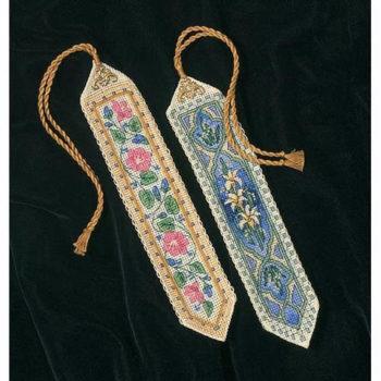"""06783 • Набор для вышивания крестом """"Элегантные закладки"""" • """"Elegant Bookmarks"""" DIMENSIONS"""