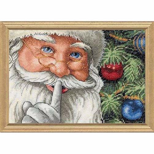 """08799 • Набор для вышивания крестом """"Секрет Санты"""" • """"Santa's Secret"""" DIMENSIONS"""