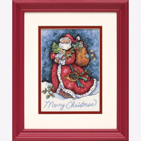 """08825 • Набор для вышивания крестом """"Счастливого Рождества"""