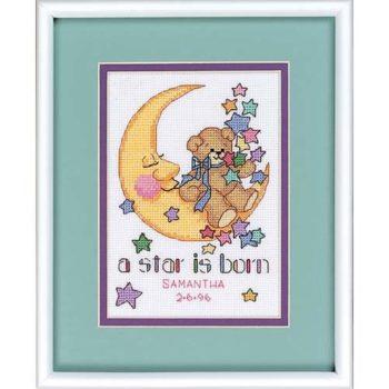 """16625 • Набор для вышивания крестом """"Рождение звезды"""" • """"A Star is Born"""" DIMENSIONS"""