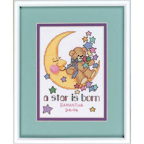 16625 Набор для вышивки крестом «Рождение звезды» • «A Star is Born» DIMENSIONS