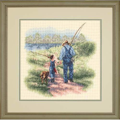 35200 Набор для вышивки крестом «Сокровенные воспоминания» • «Building Memories» DIMENSIONS