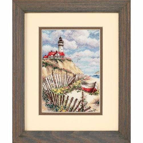 65021 Набор для вышивки крестом «Маяк Клиффсайда» • «Cliffside Beacon» DIMENSIONS Gold Collection Petites