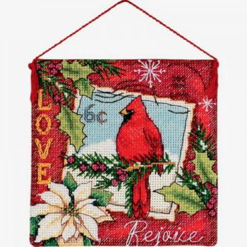 """70-08845 • Набор для вышивания крестом """"Любовь. Украшение"""" • """"Love Ornament"""" DIMENSIONS"""