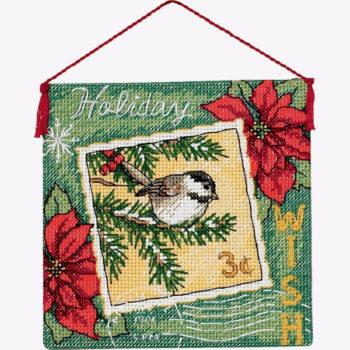 """70-08846 • Набор для вышивания крестом """"Пожелание. Украшение"""" • """"Wish Ornament"""" DIMENSIONS"""