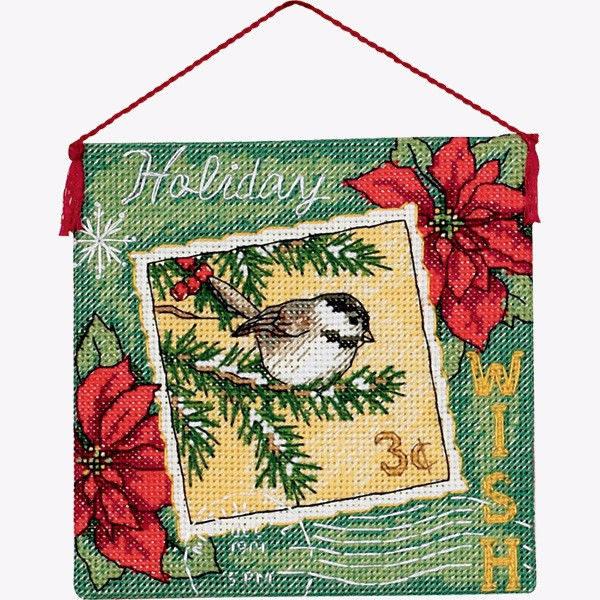 70-08846 Набор для вышивки крестом «Пожелание. Украшение» • «Wish Ornament» DIMENSIONS