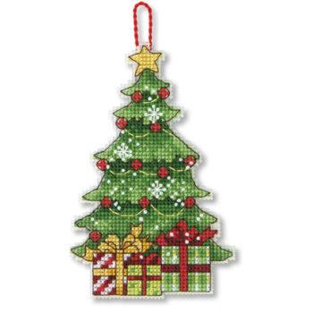 """70-08898 • Набор для вышивания крестом """"Дерево. Украшение"""" • """"Tree Ornament"""" DIMENSIONS"""