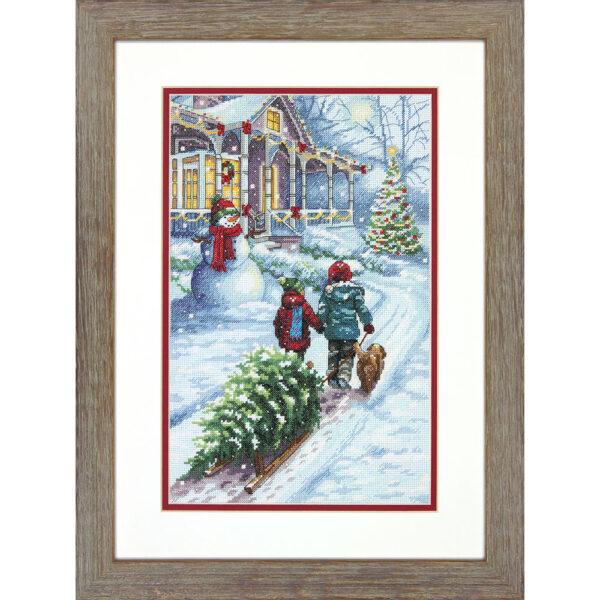 70-08960 Набор для вышивки крестом «Рождественская традиция» • «Christmas Tradition» DIMENSIONS