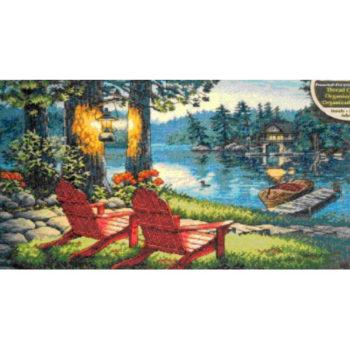 """70-35261 • Набор для вышивания крестом """"Спокойствие в сумерках"""" • """"Twilight's Calm"""" DIMENSIONS Gold Collection"""