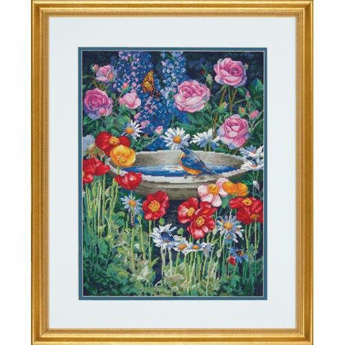 """70-35288 • Набор для вышивания крестом """"Волшебный сад"""" • """"Garden Reflections"""" DIMENSIONS"""