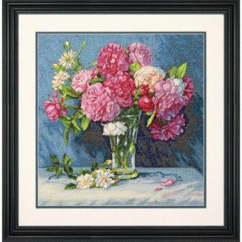 """70-35295 • Набор для вышивания крестом """"Букет для Мэри"""" • """"Mary""""s Bouquet"""" DIMENSIONS Gold Collection"""