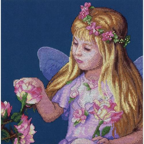 """70-35297 • Набор для вышивания крестом """"Фея роз"""" • """"Rose Fairy"""" DIMENSIONS"""