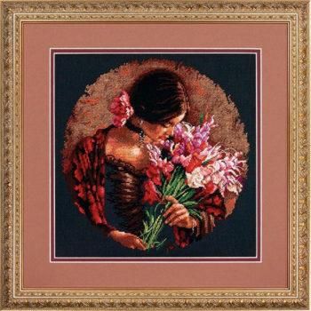 """70-35315 • Набор для вышивания крестом """"Летний аромат"""" • """"Summer Fragrance"""" DIMENSIONS"""
