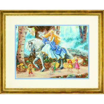 """70-35319 • Набор для вышивания крестом """"Сказка"""" • """"Fairytale"""" DIMENSIONS Gold Collection"""