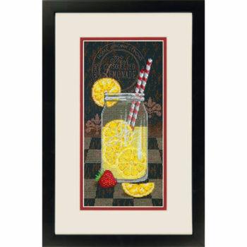"""70-35324 • Набор для вышивания крестом """"Лимонадный обед"""" • """"Lemonade Diner"""" DIMENSIONS"""