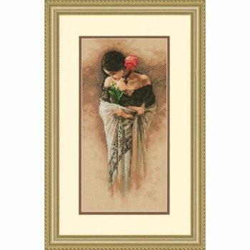 """70-35331 • Набор для вышивания крестом """"Роза"""" • """"The Rose"""" DIMENSIONS"""
