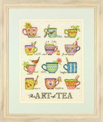 """70-35335 • Набор для вышивания крестом """"Искусство чаепития"""" • """"The Art of Tea"""" DIMENSIONS"""
