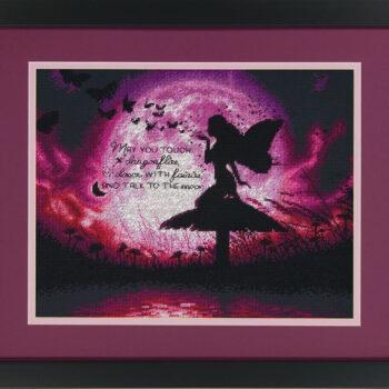 """70-35337 • Набор для вышивания крестом """"Фея бабочек"""" • """"Butterfly Fairy"""" DIMENSIONS"""
