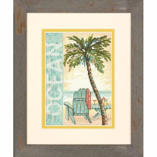 """70-65122 • Набор для вышивания крестом """"Океан"""" • """"Ocean"""" DIMENSIONS"""