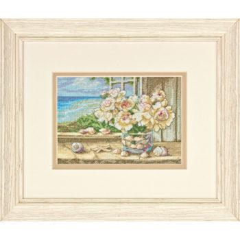"""70-65125 • Набор для вышивания крестом """"У моря"""" • """"By the Sea"""" DIMENSIONS Gold Collection Petites"""