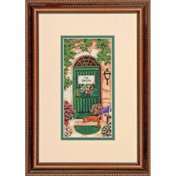 """70-65126 • Набор для вышивания крестом """"Тосканское гостеприимство"""" • """"Tuscan Welcome"""" DIMENSIONS Gold Collection Petites"""