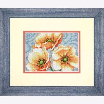 "70-65139 • Набор для вышивания крестом ""Анемоны"" • ""Windflowers"" DIMENSIONS"