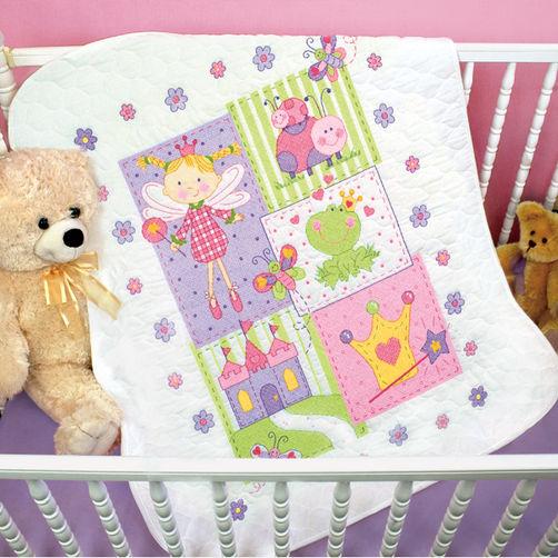 """70-73541 • Набор для вышивания одеяла крестом """"Фея"""" • """"Fairy Quilt"""" DIMENSIONS"""