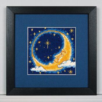 """07173 • Набор для вышивания гобеленом """"Лунный мечтатель//Moon Dreamer"""" DIMENSIONS"""