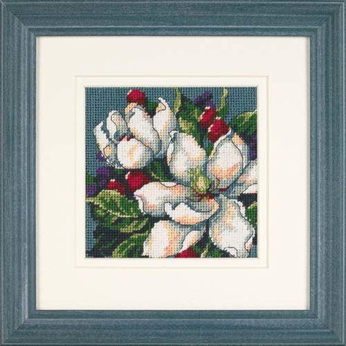 """07217 • Набор для вышивания гобеленом """"Магнолии//Magnolias"""" DIMENSIONS"""