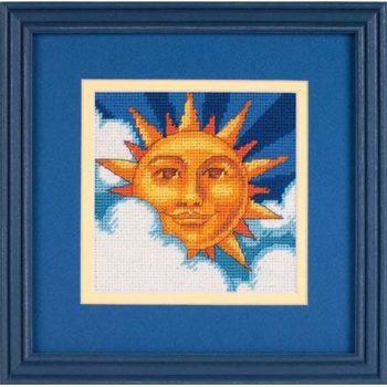 """07218 • Набор для вышивания гобеленом """"Небесное солнце//Celestial Sun"""" DIMENSIONS"""