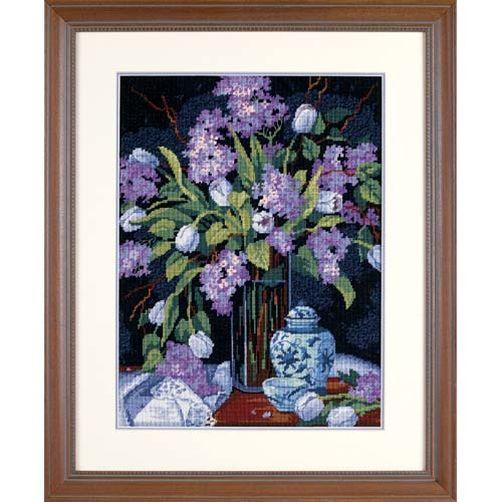 20067 Набор для вышивки — гобелен «Тюльпаны и сирень» • «Tulips & Lilacs» DIMENSIONS