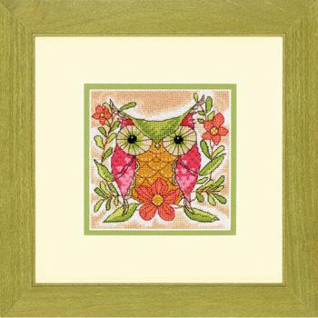 """71-07241 • Набор для вышивания гобеленом """"Причудливая сова//Whimsical Owl"""" DIMENSIONS"""