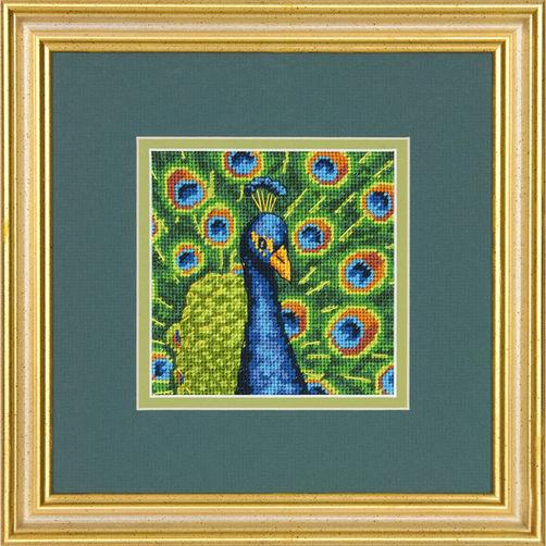 71-07242 Набор для вышивки — гобелен «Красочный павлин» • «Colorful Peacock» DIMENSIONS