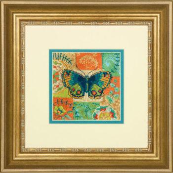 "71-07243 • Набор для вышивания гобеленом ""Бабочка//Butterfly Pattern"" DIMENSIONS"