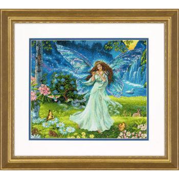 """70-35354 • Набор для вышивания крестом """"Весенняя фея"""" • """"Spring Fairy"""" DIMENSIONS"""