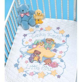 """03171 • Набор для вышивания одеяла крестом """"Мерцай"""