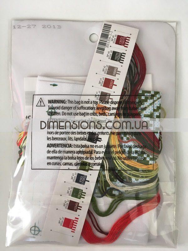 """70-65134 • Набор для вышивания крестом """"Маковое поле"""" • """"Poppy Fields"""" DIMENSIONS"""