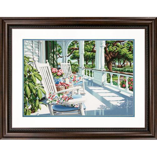 """73-91437 • Набор для рисования красками по номерам """"Веранда"""" • """"Veranda"""" Dimensions Paint Works"""