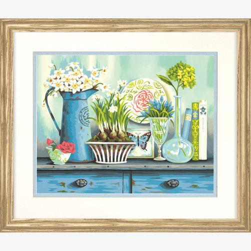 73-91448 Набор для рисования красками по номерам «Винтаж» • «Vintage Collectibles» Dimensions Paint Works