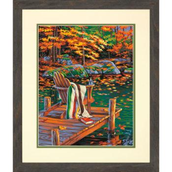 """73-91468 • Набор для рисования красками по номерам """"Золотой пруд"""" • """"Golden Pond"""" Dimensions Paint Works"""