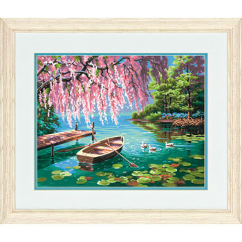 "73-91491 • Набор для рисования красками по номерам ""Весенняя красота"" • ""Willow Spring Beauty"" Dimensions Paint Works"