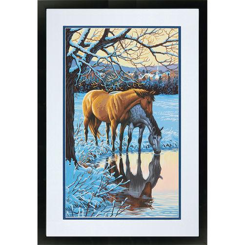 73-91492 Набор для рисования красками по номерам «Отражение» • «Reflections» Dimensions Paint Works