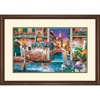 """73-91493 • Набор для рисования красками по номерам """"Разве это не романтично?"""" • """"Isn't it Romantic"""" Dimensions Paint Works"""