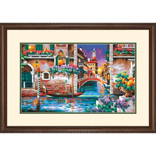 73-91493 Набор для рисования красками по номерам «Разве это не романтично?» • «Isn't it Romantic» Dimensions Paint Works