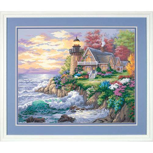 91129 Набор для рисования красками по номерам «Хранитель моря» • «Guardian of the Sea» Dimensions Paint Works