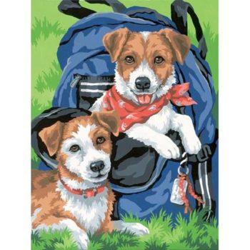 """91150 • Набор для рисования красками по номерам """"Рюкзак для друзей"""" • """"Back Pack Buddies"""" Dimensions Paint Works"""
