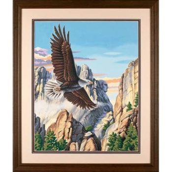 """91301 • Набор для рисования красками по номерам """"Парящий орел"""" • """"Soaring Eagle"""" Dimensions Paint Works"""